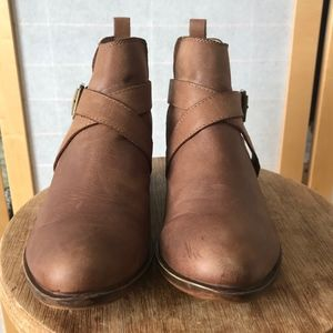 Lucky Brand Shoes - Lucky Brand Bellisa boot brown leather size 7.5